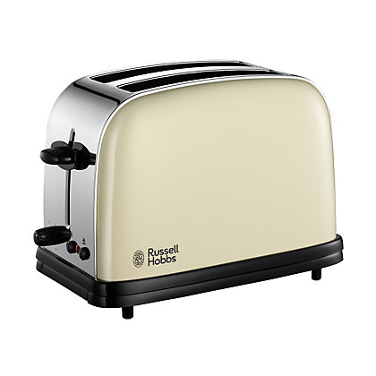 Тостер за 2 филии хляб Russell Hobbs Colours 18953, 1200W