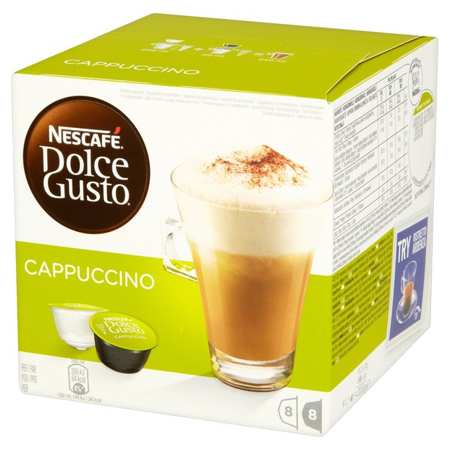 Капсули Dolce Gusto CAPPUCCINO