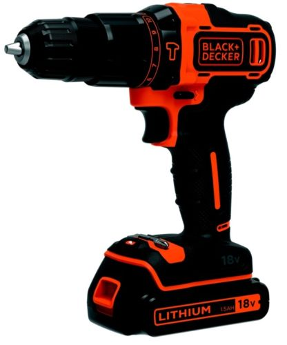 Винтоверт Black and Decker BHD18SB, 2х18V, 1.5A