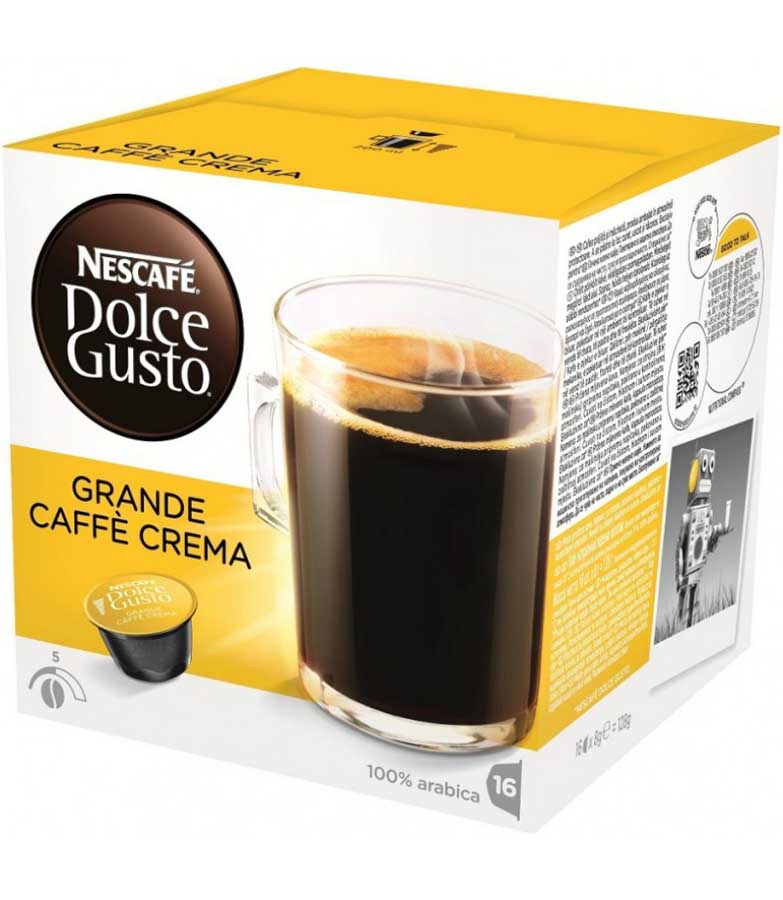 Капсули Dolce Gusto GRANDE