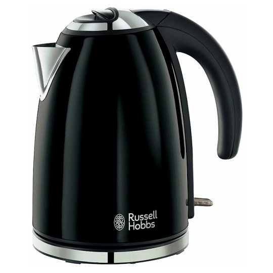 Кана за вода Russell Hobbs Colours black RH18946, 3kW