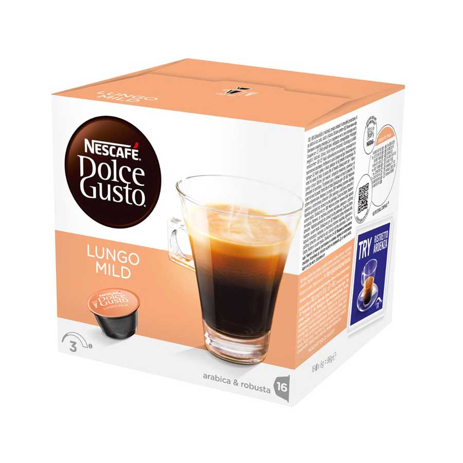 Капсули Dolce Gusto LUNGO MILD