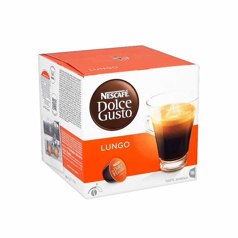 Капсули Dolce Gusto LUNGO