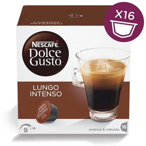 Капсули Dolce Gusto Lungo Intenso