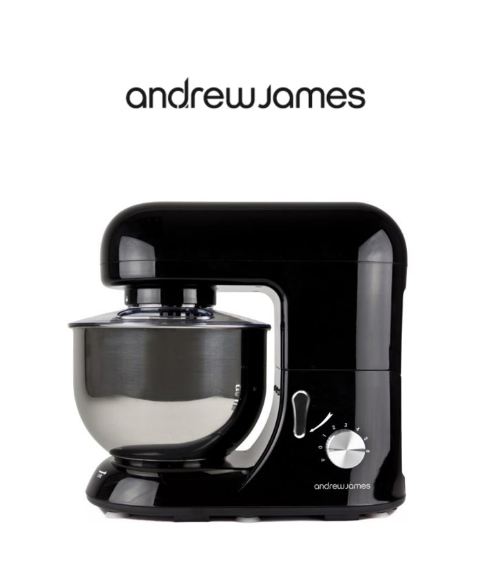 Планетарен миксер Andrew James PM000161WS / 1300W / 5,2L / Черно